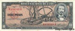 10 Pesos CUBA  1960 P.088c SPL