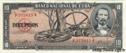 10 Pesos CUBA  1960 P.088c NEUF