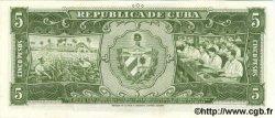 5 Pesos CUBA  1958 P.091a NEUF