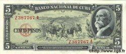 5 Pesos CUBA  1960 P.091c pr.NEUF