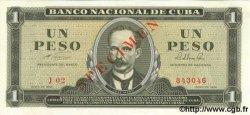 1 Peso CUBA  1964 P.094bs pr.NEUF