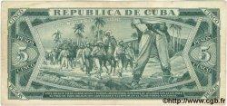 5 Pesos CUBA  1965 P.095c TTB