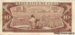10 Pesos CUBA  1965 P.096c TTB+