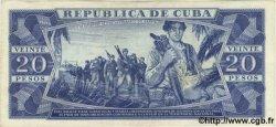 20 Pesos CUBA  1964 P.097b TTB+