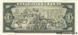 1 Peso CUBA  1966 P.100s NEUF