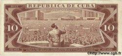 10 Pesos CUBA  1966 P.101 TTB+