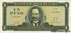 1 Peso CUBA  1967 P.102a