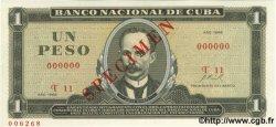 1 Peso CUBA  1968 P.102as NEUF