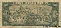 1 Peso CUBA  1969 P.102a TB
