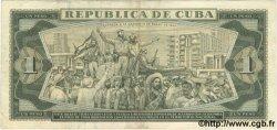 1 Peso CUBA  1979 P.102b TB+