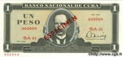 1 Peso CUBA  1979 P.102b NEUF