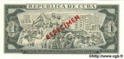 1 Peso CUBA  1980 P.102b NEUF
