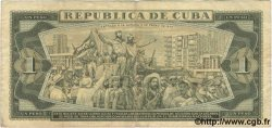 1 Peso CUBA  1981 P.102b TB