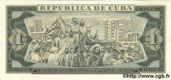 1 Peso CUBA  1981 P.102b SPL