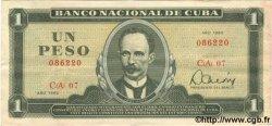 1 Peso CUBA  1982 P.102b TTB