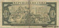 1 Peso CUBA  1986 P.102c pr.TB
