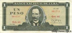 1 Peso CUBA  1986 P.102c TTB