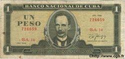 1 Peso CUBA  1988 P.102d TB