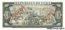 1 Peso CUBA  1988 P.102d NEUF