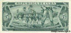 5 Pesos CUBA  1967 P.103a SUP+