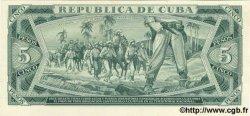 5 Pesos CUBA  1970 P.103bs pr.NEUF