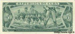 5 Pesos CUBA  1972 P.103b SUP