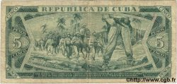 5 Pesos CUBA  1985 P.103c pr.TB