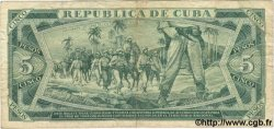 5 Pesos CUBA  1986 P.103c pr.TB