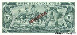 5 Pesos CUBA  1986 P.103c NEUF