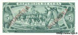 5 Pesos CUBA  1987 P.103c NEUF
