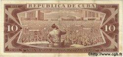 10 Pesos CUBA  1967 P.104a