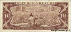 10 Pesos CUBA  1968 P.104a TTB