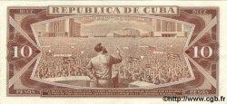 10 Pesos CUBA  1971 P.104a TTB+