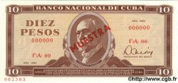 10 Pesos CUBA  1983 P.104c NEUF