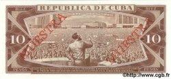 10 Pesos CUBA  1989 P.104d NEUF