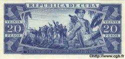 20 Pesos CUBA  1971 P.105as NEUF