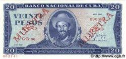20 Pesos CUBA  1987 P.105d NEUF