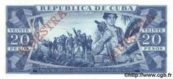 20 Pesos CUBA  1988 P.105d NEUF