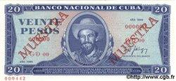 20 Pesos CUBA  1989 P.105d NEUF