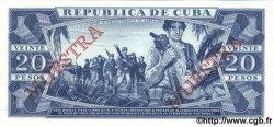 20 Pesos CUBA  1990 P.105d NEUF