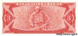 3 Pesos CUBA  1984 P.107a NEUF