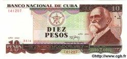 10 Pesos CUBA  1991 P.109 NEUF