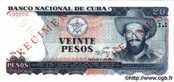 20 Pesos CUBA  1991 P.110s NEUF