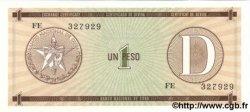 1 Peso CUBA  1985 P.FX.27 NEUF