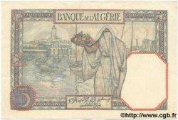 5 Francs ALGÉRIE  1939 P.077a SUP