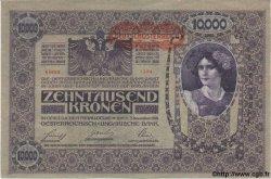10000 Kronen AUTRICHE  1918 P.065 SPL