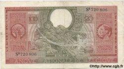 100 Francs - 20 Belgas BELGIQUE  1943 P.123 TTB