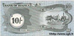 10 Shillings BIAFRA  1968 P.04 pr.NEUF