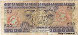 500 Francs BURUNDI  1979 P.34 TB
