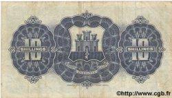 10 Shillings GIBRALTAR  1958 P.14b TB+